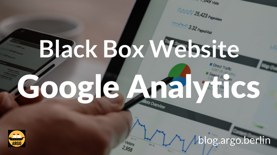 Blog-Titel: Black Box Webseite: Google Analytics