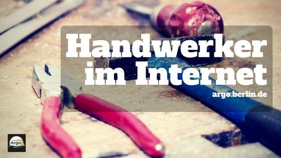 Titelbild des Artikels: Handwerker im Internet